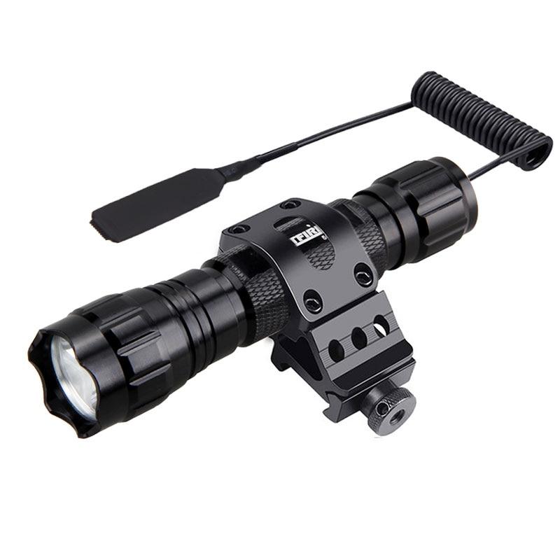 5000lm xm-l q5 t6 led arma luz