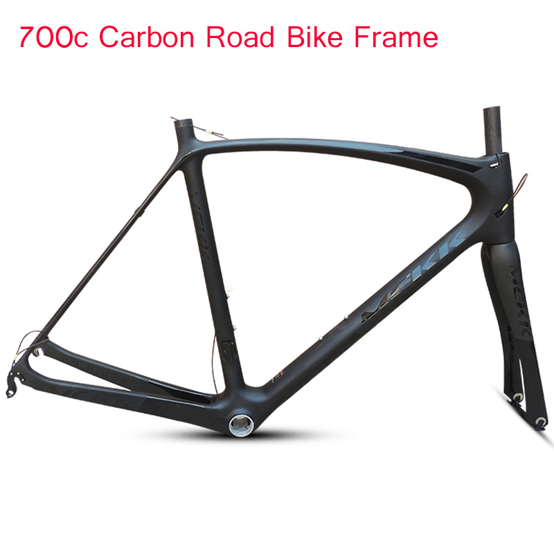 2019 Новинка 700C карбоновые дорожные рамы, карбоновые рамы для дорожного велосипеда с 700c велосипедной вилкой