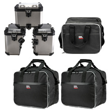 Motorcycle Luggage Bags for BMW R1200GS Adv Black Inner Bags R 1200 GS adventure WATER-COOLED 2013-2017