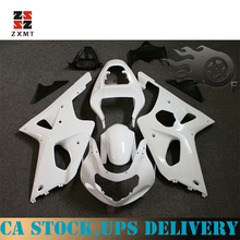 ZXMT Free Custom Injection Motorcycle Fairing Kit for Suzuki GSX-R1000 2000-2002 K1 Unpainted ABS Injection Bodywork 2001