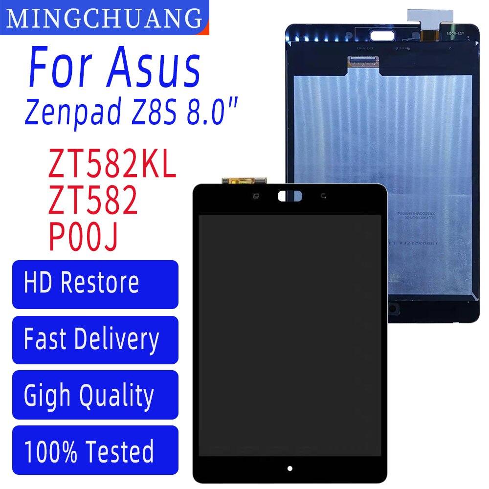 ЖК-дисплей 8,0 дюйма для Asus Zenpad Z8S, ZT582, ZT582KL, P00J, сенсорный экран, дигитайзер, сенсорная панель в сборе, Запасная часть