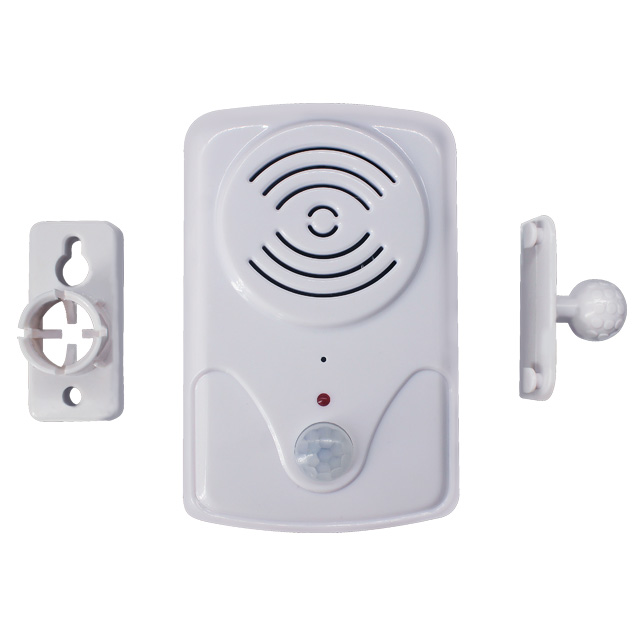 Wireless PIR Motion Sensor Detector Anti-theft Doorbell Alarm Activated Voice Speaker For Welcome Doorbell And Driveway Garage