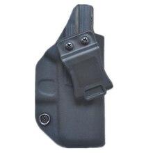 Внутри пояс IWB Kydex кобура на заказ для Glock 43 Gen 1-5 СКРЫТОЕ ОРУЖИЕ кейс для пистолета Kydex Зажим для ремня