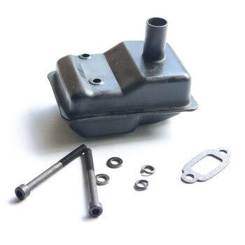 Metal Muffler for 23cc 26cc 29cc 30.5cc Engine for 1/5 HPI Baja 5B SS 5T 5SC Rofun Rovan King Motor Rc Car Toys Parts