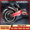 Macury Speedual 10 дюймов двойной электроскутер 52 в 2000 Вт внедорожный E-скутер 65 км/ч двойной привод T10-ddm Zero 10X внедорожный