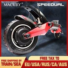 Macury Speedual 10 Inch Dual Motor Elektrische Scooter 52 V 2000 W Off-road E-scooter 65 km/h dubbele Drive T10-ddm Nul 10X Off Road(China)