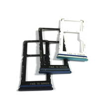 Sim-Tray-Holder Xiaomi for Mi-Note 10-Lite/note10 Adapter Socket Repair-Parts