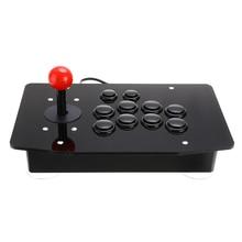 USB Arcade Joystick 10 Buttons Fighting Stick Joystick Gaming Controller Gamepad Video Game for PC Desktop Computers