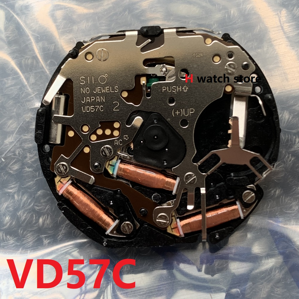 Watch Accessories Watch Movement Japanese Original VD57C Movement Quartz VD57 Multifunction Movement