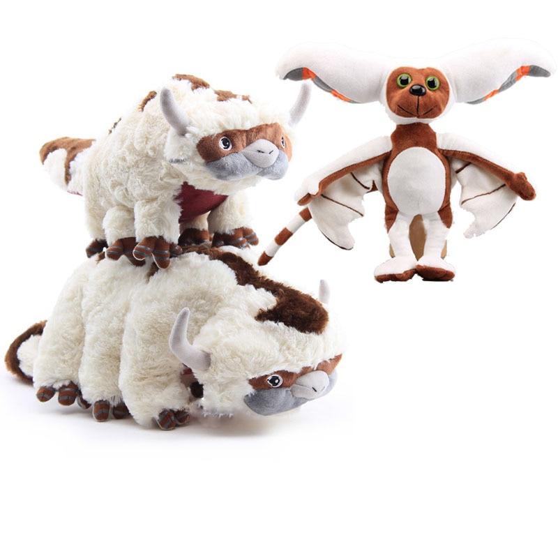 Anime Avatar The Last Airbender Appa Momo Plush Toys Kawaii Appa Cartoon Plush Doll Appa Avatar Stuffed Dolls Kids Toy