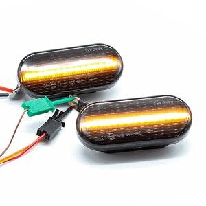 Image 4 - Für SEAT Ibiza 6L Cordoba Toledo Leon 1M Dynamischen Blinken Blinker Licht Repeater Anzeige Birne Bernstein Auto