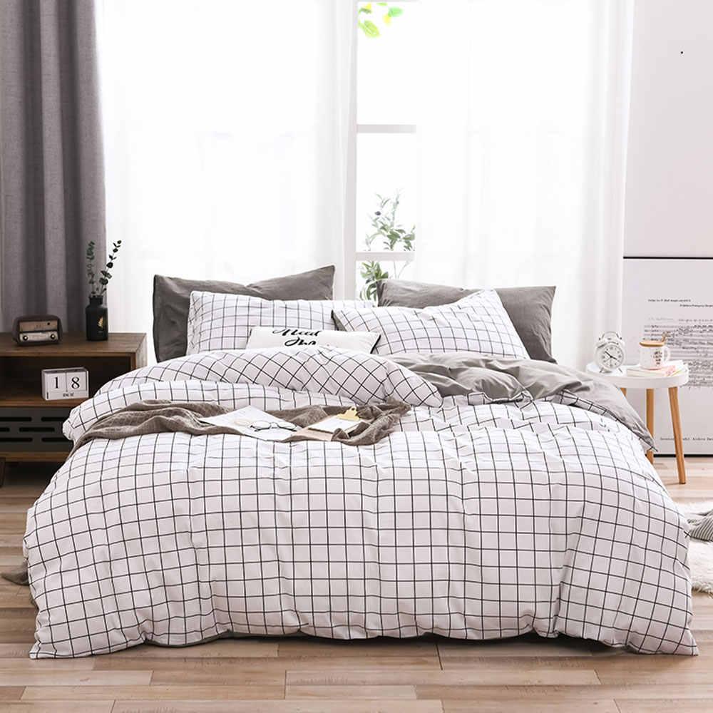 100/% cotton Simple kitten pattern cotton bedding,duvet cover pillowcase.