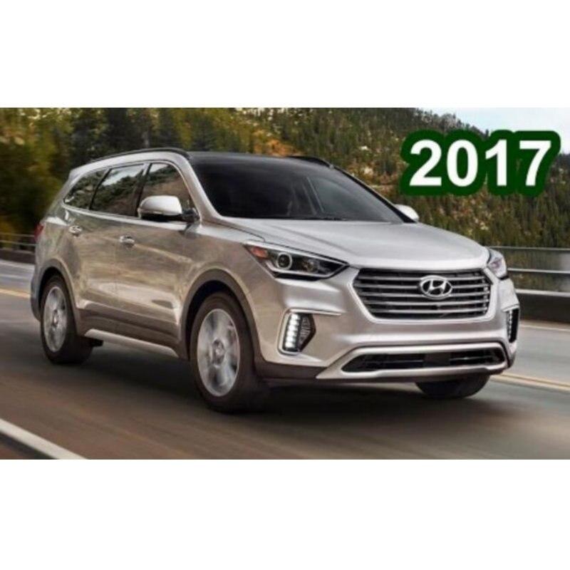 Car Led Interior Light For Hyundai Grand Santa Fe 2017 11pc Led Lights For Cars Lighting Kit Automotive Bulbs Canbus