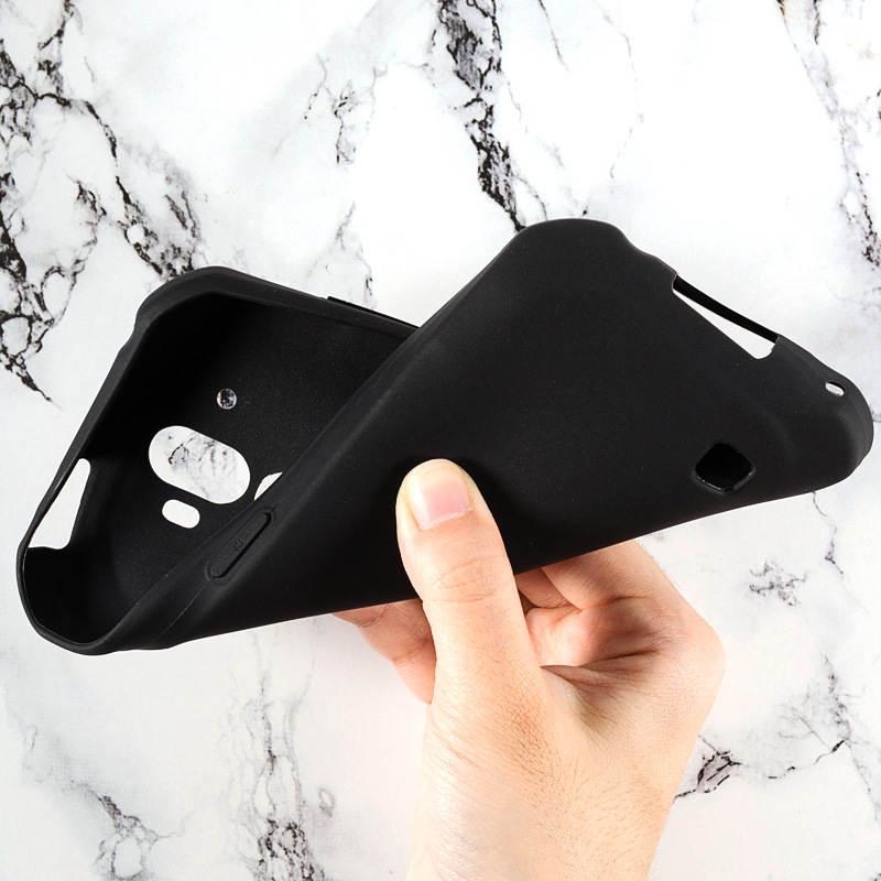 Doogee S40 Case Soft TPU Matte Pudding Telefon Cover Black Anti-Dust Ultra Slim Protection Phone Capa For Doogee S 40 5.5 Inch