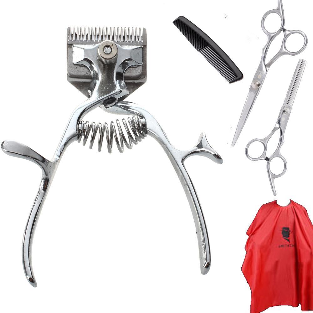 Moser Hair Clipper Professional Traditional Retro Hair Clipper Barber Scissors Comb Trimmer Barber Tools Set SU291