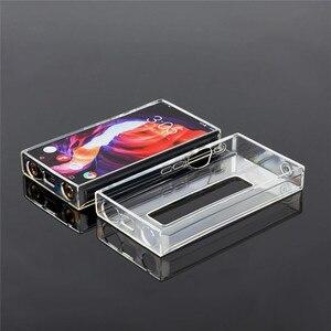 Image 4 - Yumuşak TPU Crystal Clear koruyucu kılıf FiiO M11 Pro müzik çalar aksesuarları deri tam kapak kılıf kol FiiO m11 Pro