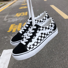 2020 Spring and Autumn New Female Students Lace Canvas Shoes
