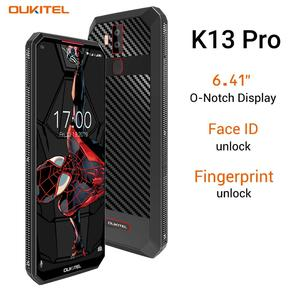 """Image 4 - OUKITEL K13 Pro 6.41 """"19.5:9 Android 9.0 cep telefonu MT6762 4G RAM 64G ROM 5V/6A 11000mAh OTA NFC parmak izi 4G Smartphone"""