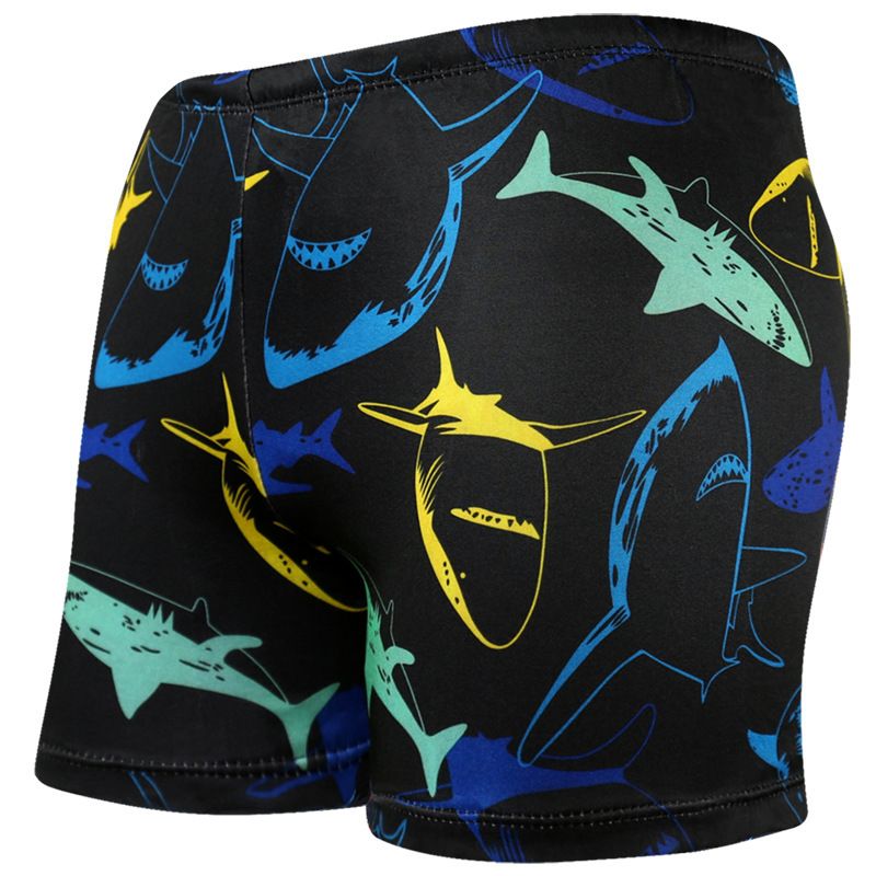 [Swimming Pool Special For-] New Style Fashion MEN'S Swimming Trunks Boxer MEN'S Swimming Trunks