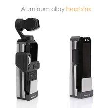 Can Cool Osmo kieszonkowy radiator ze stopu aluminium obudowa ochronna uchwyt do klatki Osmo akcesoria kieszonkowe uniwersalny statyw do kijka do selfie