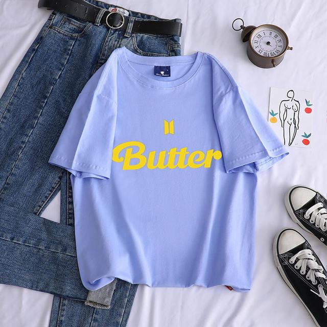 BTS BUTTER THEMED T-SHIRT (12 VARIAN)