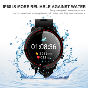 Image 5 - Cobrafly T30 Sports Smart Watch Men Fitness Tracker Heart Rate Monitor 1.3 Inch Full Round Screen Ip68 Waterproof Smartwatches