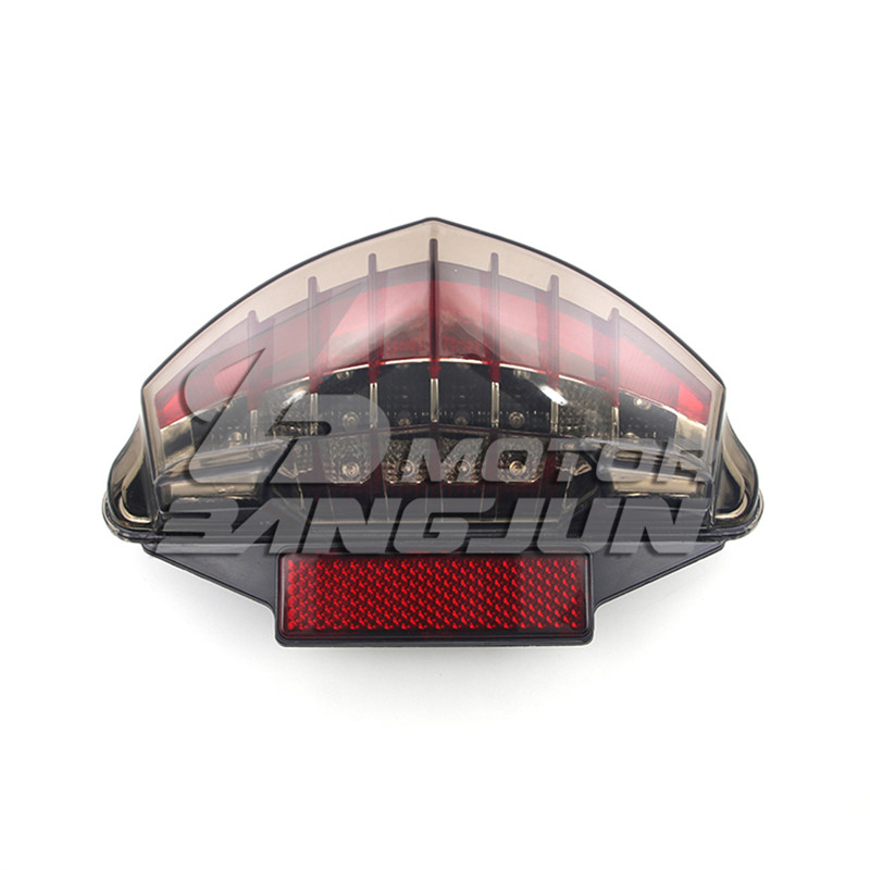 motorbike assembly rear flashers professional motorcycle brake light for BMW F650GS F650ST R1200GS <font><b>R1200R</b></font> <font><b>LED</b></font> moto tail light image