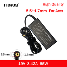 65W Laptop Charger Adapter19V 3.42A 5.5*1.7mm Power Supply For Acer Aspire 5920 5535 5738 6920 7520 6530G 7739Z 5315 5630 5735