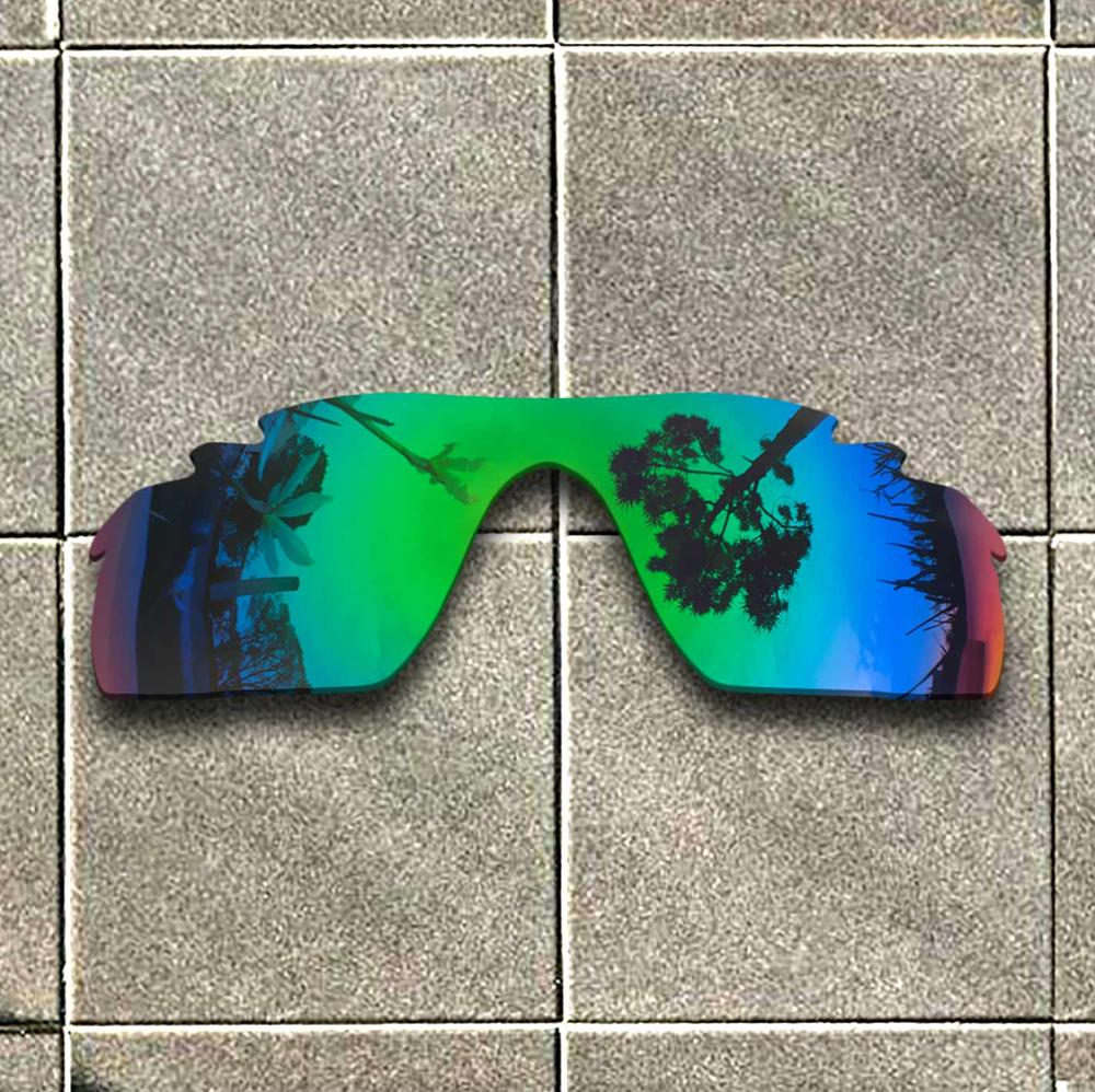 Emerald Green Polarized Sunglasses Replacement Lens For-Oakley RadarLock Path Vented Frame 100% UV Protection Good Fitness