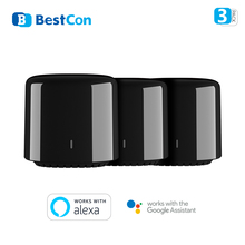 1/2/3 Pack New Broadlink RM4C mini BestCon brand RM4 Universal Remote Control IR Transmitter works with Alexa and Google Home