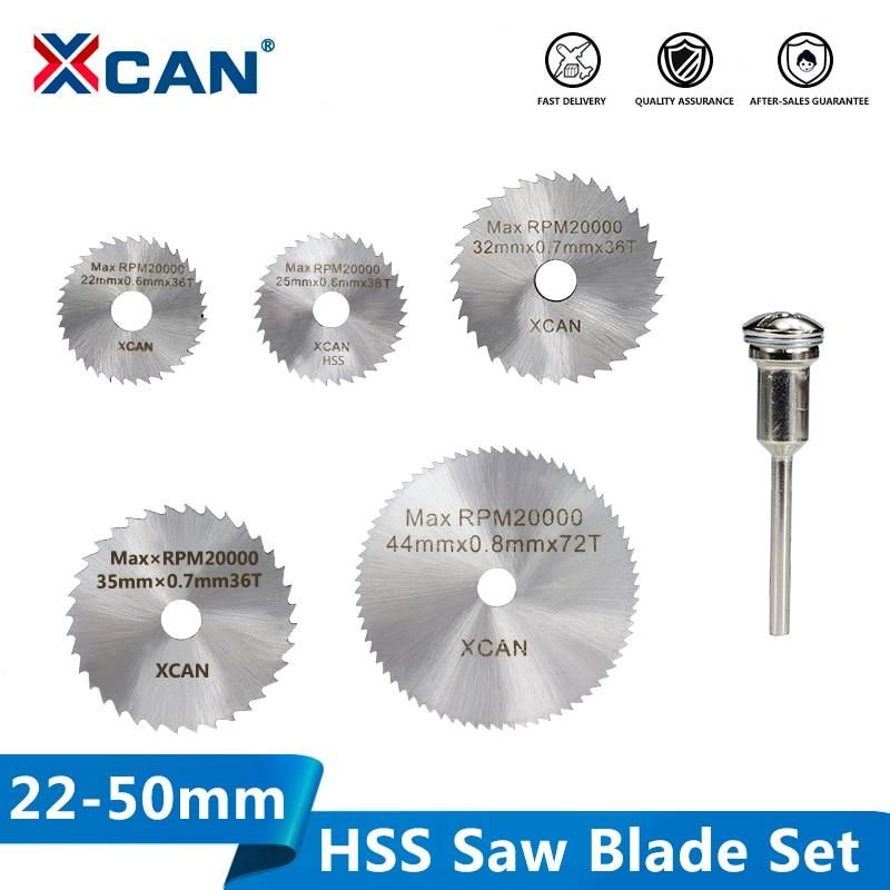 XCAN HSS Mini Saw Blade Circular Cutting Disc Power Tools Accessories Wood Metal Cutting Blade