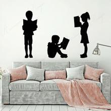 Детские Виниловые наклейки на стену для чтения детских книг