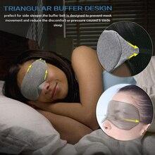 Sleeping Eye Mask Eyeshade Cover Women Men Soft Portable Shade Eye Patch Blindfold Travel Eyepatch NShopping