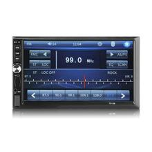 7012B 7 pulgadas doble 2DIN coche reproductor MP5 BT pantalla táctil Radio Estéreo reproductor Multimedia MP5 reproductor USB FM