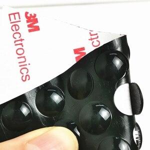 50 зерен/лот 10x2 мм черный замок двери Резиновый Буфер Заслонки бамперы для шкафа силиконовые мебельные колодки Подушка Защитная фурнитура