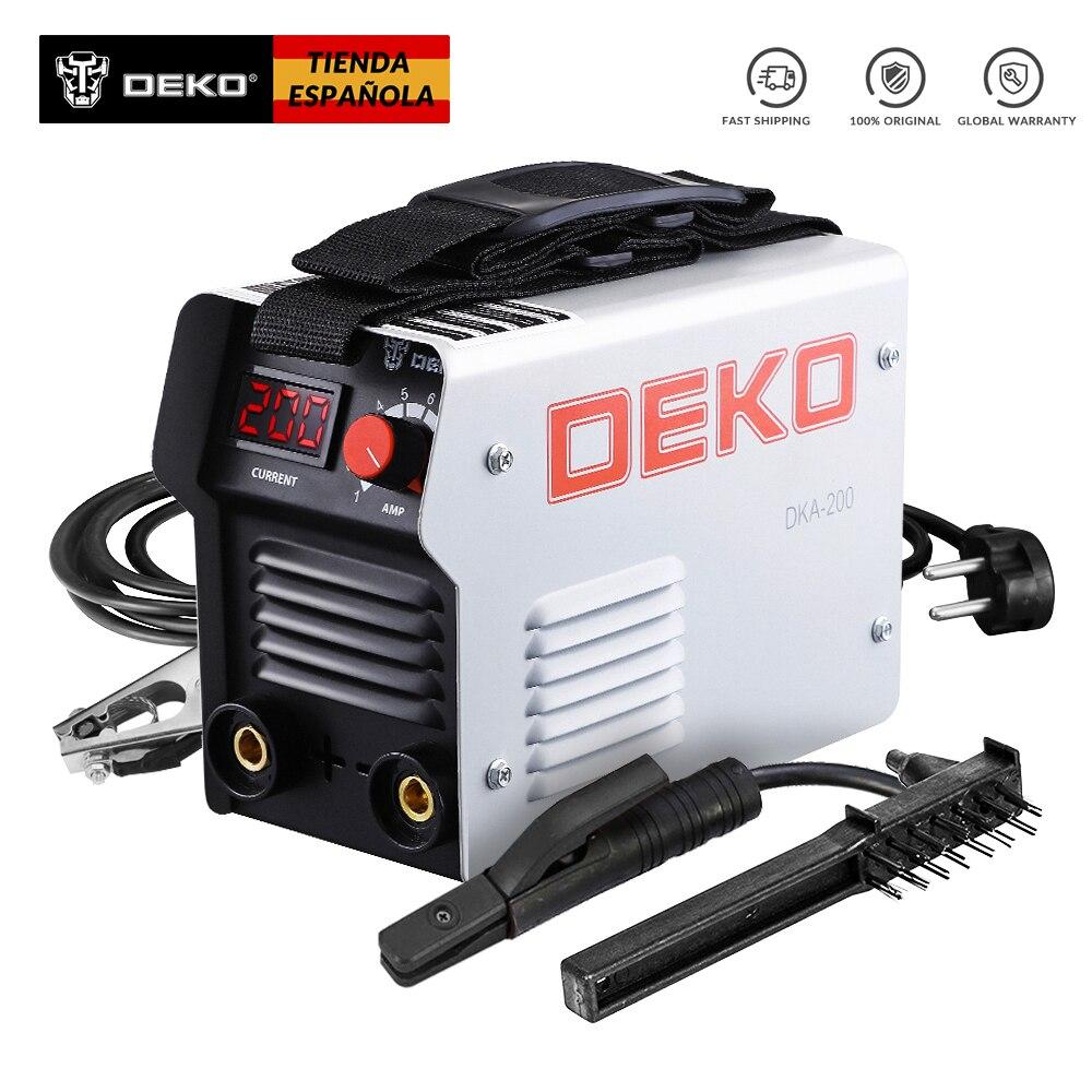 DEKO DKA-200G  200A   220V-240V Welding Task Powerful Welding Machine Inverter Arc Electric Welding Machine Inverter Welder