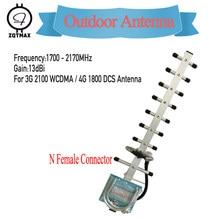 ZQTMAX – antenne Yagi 13dBi 1700-2170MHz pour DCS WCDMA UMTS 3G booster de signal 1800 2100 2g 3g LTE