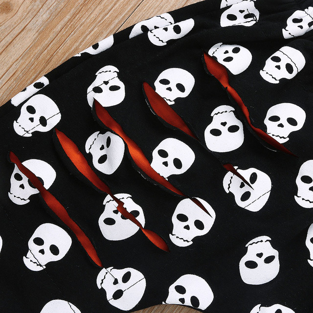 SET BAD AND BOOGIE SKULL BABY OUTFITSS