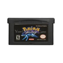 For Nintendo GBA Video Game Cartridge Console Card Poke Series Liquid Crystal English Language US Version