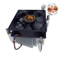 Cpu ventilador pwm 2011 núcleo de cobre por instalação de parafuso 4pin desktop computador pc cpu dissipador de calor refrigerador ventilador núcleo 4pin para lga2011