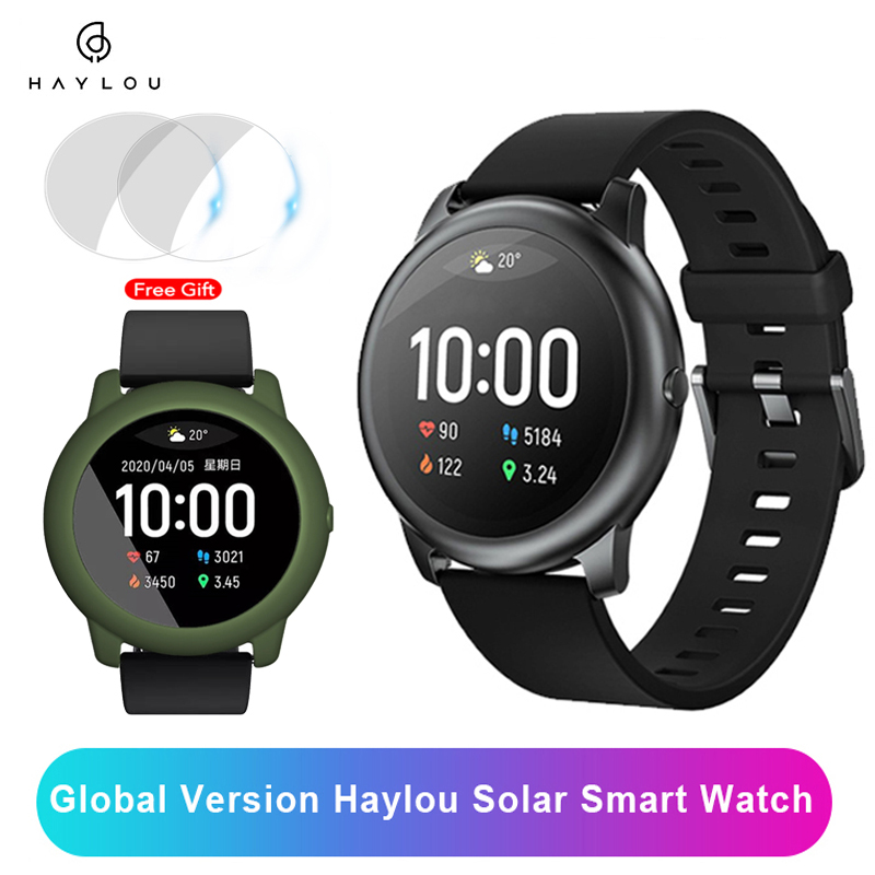 YouPin Haylou Solar Smart Watch IP68 Waterproof Smartwatch Women Men Watches For Android iOS Fitness Tracker LS05 Watch PK Mi5