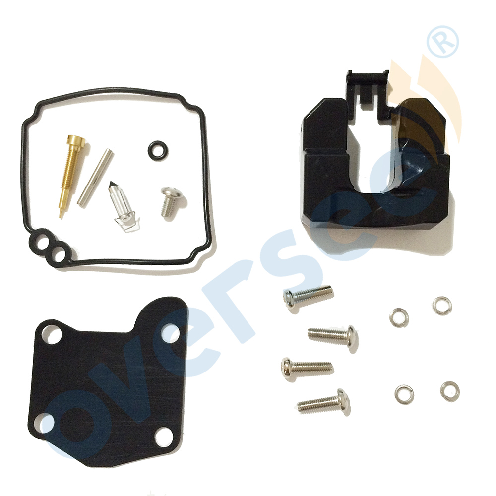 63V-W0093-00-00 Carburetor Repair Kit For YAMAHA 9.9HP 15HP Outboard Engine 2Stroke Hidea Parsun Boat Motor Aftermarket Parts
