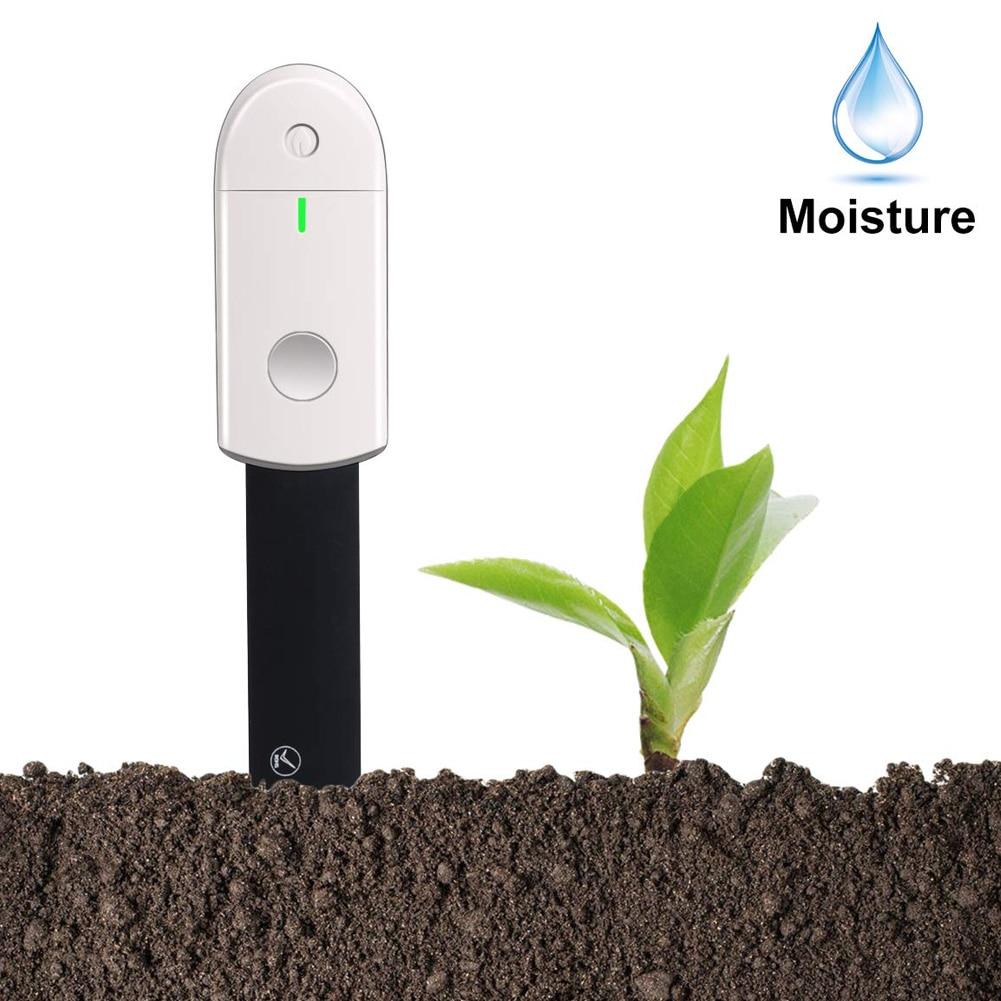 Waterproof Soil Water Monitor Soil Moisture Meter Test Kit Hygrometer Instant Detection For Indoor Plants Gardening Pot Flowers