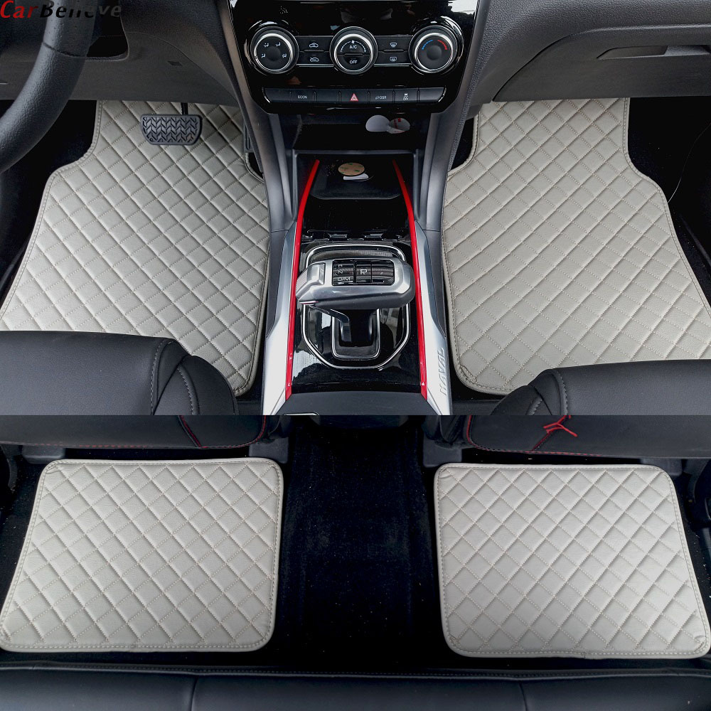 Car Believe car floor mat For <font><b>chrysler</b></font> <font><b>300c</b></font> 2009 <font><b>2010</b></font> 2011 2012 2013 2014 2015 2016 grand voyager 300 accessories carpet rugs image