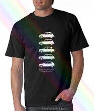 T-shirt imprimé pour homme, modèle citroën, voiture à moteur double, 2cv, Dyane Ami 6 Ami 8, carte classique