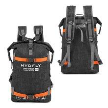 20л Треккинговая водонепроницаемая сумка рюкзак Открытый сухой мешок водонепроницаемый рюкзак плавающий Рыбалка дрейфующий плавательный водонепроницаемый рюкзак