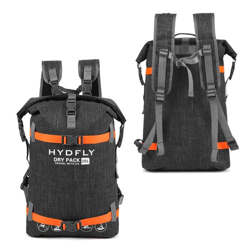 20L Trekking Water Proof Bag Backpack Outdoor Dry Bag Waterproof Backpack Floating Fishing Drifting Swimming Waterproof Backpack