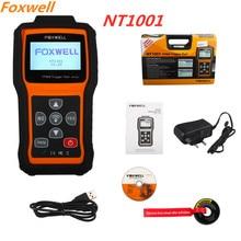 FOXWELL NT1001 TPMS триггер инструмент декодирование датчик шины ID режим проверки РЧ-ключ FOB система контроля давления в шинах тестер