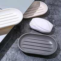 Japanese-style Soap Box Shower Plate Hiking Bathroom Home Soap Organizer Case Container Travel Holder Dish Bathroom Products
