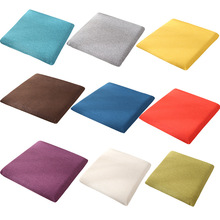 Nordic Solid Dining Chair Cushion Ins Memory Cotton 4 Seasons Breathable Mat Student Living Room Office Christmas Decoration